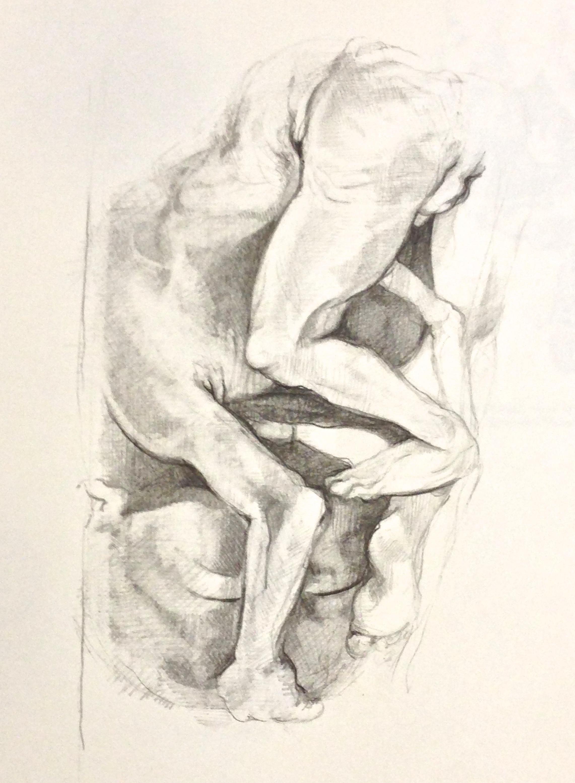 Life Drawing Dis Figuration